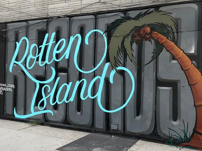 Rotten Island Mural