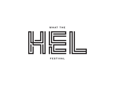 10 Weekly Logo Challenge   What The Hel Festival