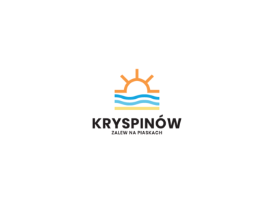 Kryspinów - Zalew na Piaskach sand waves water beach trend perfect guide modern inspiration design symbol grid good best freelance sun custom font mark brand book creative logo lake poland create startup website services clean logos icons color ideas branding process web graphic