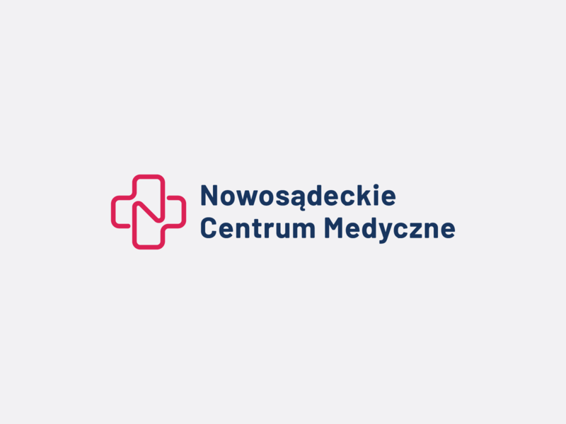 Nowosądeckie Centrum Medyczne visual art form support human medicine identity born life hearth medical  pharmaceutical hospital client city series patient symbol mark logo brand branding