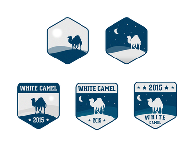 Badges for Perl Award gray blue dessert camel perl badges badge