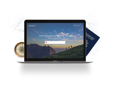 Making some product images ios compass passport pin map app design lateral bandit travel