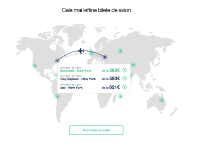 Exploring new ways of showing cheapest flights map world card cheap sky plane userinterface ui flight