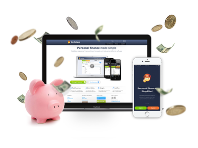 Product image for a Personal Finance App userinterface ui web coins image financial app money