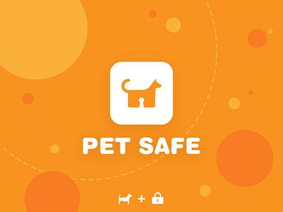 dog icon orange appicon pet logo lock illustration icon doglogo dog