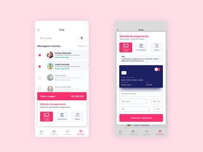 Aplicativo em desenvolvimento app concept mobile app design app ui design payment iphone app mobile uiux