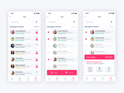 Chat typography mobile app design payment design app mobile app app concept app mobile uxdesign uidesign uxui ux uiux ui