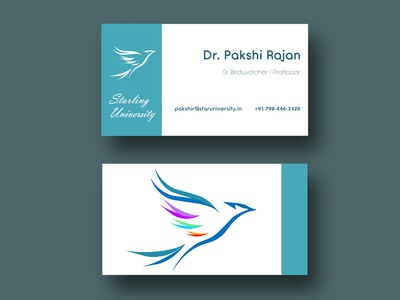 Business Card Design - University of Birds