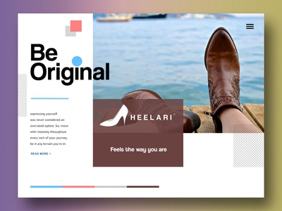 Heelari - A Footwear Company model