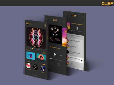 Music Player - CLEF