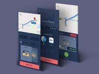 Ola Redesign Mockup app animation ui ux branding design