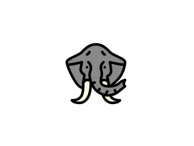Elephant Coloring vector sketch elephant animal