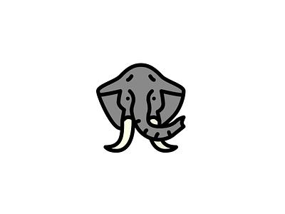 Elephant Coloring vector sketch elephant animal
