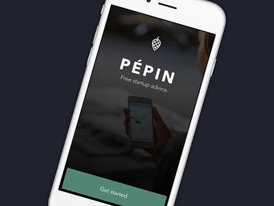 Pépin Mobile Splash Screen splash mobile