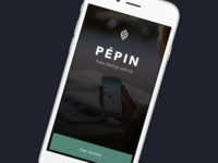 Pépin Mobile Splash Screen