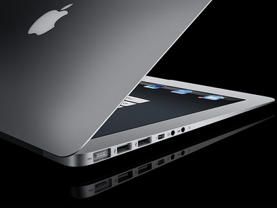 Conception of MacBook Touch