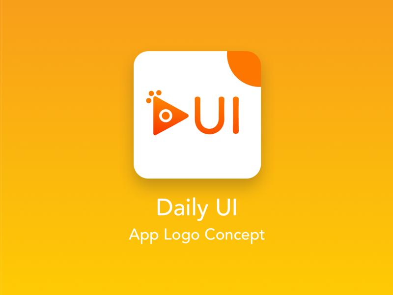 Daily UI App Icon / Logo Design concept gradients 52 branding illustration app icon logo design daily ui ux ui