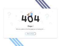 404 Page - UI Challenge