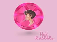 Hello, Dribbble !!
