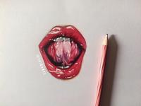 Realistic Lip Art