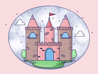 Castle Vector Illustration