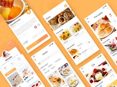 Food application lens collection
