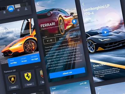 Car APP/Home/Product Details product details homepage 评论页面 应用 插图 向量 ps ux 设计 ui