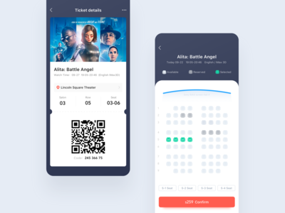 Movie ticket application