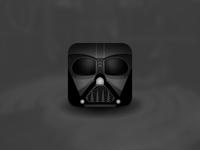 Star Wars Villain Helmet Icons - Darth Vader