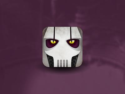 Star Wars Villain Helmet Icons - General Grievous