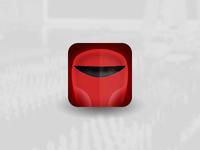 Star Wars Villain Helmet Icons - Royal Guard