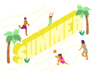 Let's play summer!