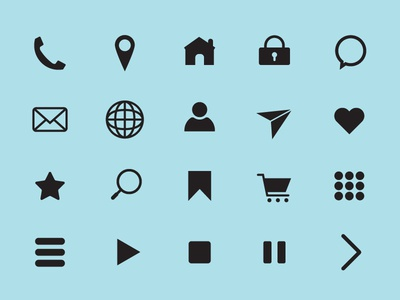 Icon Pack Without Background