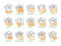 File Type Icons Set
