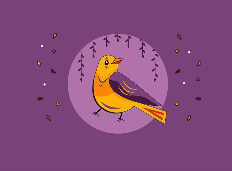Smiling Bird illustrations designs bird illustration smile smiling branding draw color logo bird character artwork art design 2d art vector illustrator illustration flat 2d