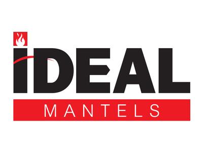Ideal Mantels  construction design branding logo mantels ideal