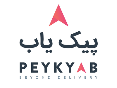Peykyab - پیک یاب ios app gps logo branding iran tehran motori peyk peykyab