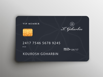 K Goharbin - Loyalty Cards conversion business iran tehran jewellery luxury card loyal loyalty membership