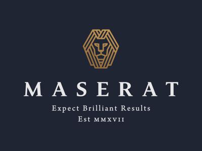 Maserat Group holding canada toronto development branding logo lion constrcution consultation group maserrat maserat