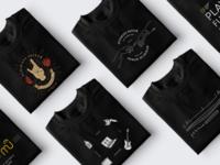 'Rock-n-Roll' t-shirt prints