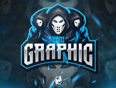 YAM GRAPHIC logodesign logo gamer logo esport gaming gamer esport logo illustration icon vector logo design