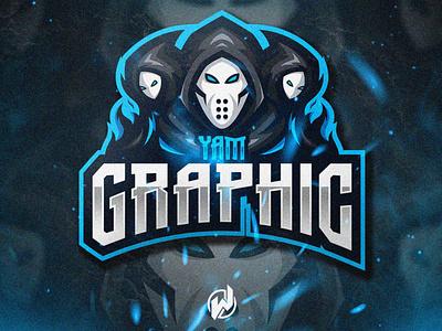 YAM GRAPHIC logodesign logo gamer logo esport gaming gamer esport logo illustration icon vector logo design