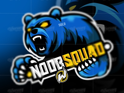 NOOB SQUAD dota 2 flat graphic design fortnite pubg fortnite logo logo gamer logo esport gaming gamer esport logo branding illustrator vector logo illustration identity icon design animation
