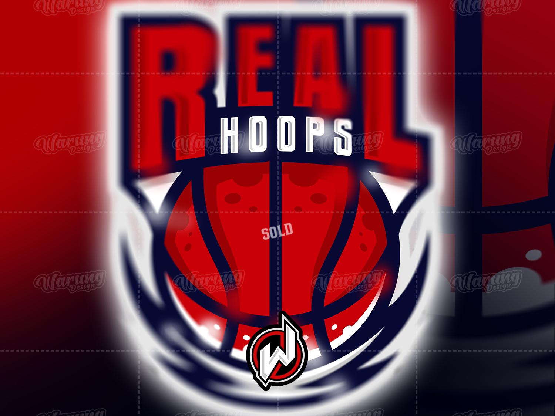 REAL HOOPS fortnite graphic design pubg fortnite logo logo gamer logo esport gaming gamer flat esport logo branding illustrator vector logo illustration icon identity basketball design animation