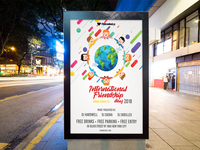 International Friendship Day Flyer