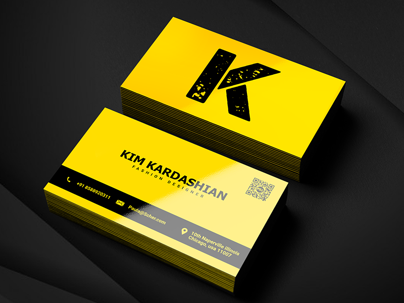 Creative Business Card By Salmaan Ansari On Dribbble