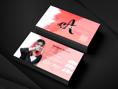 Artist Business Card Designs Themes