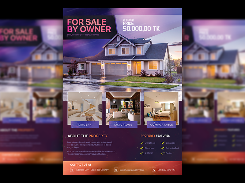 Property Flyer corporate business flyer home sale flyer real estate real estate flyer property dealer flyer property dealer property property flyer