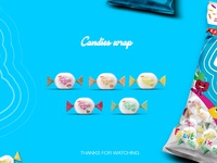 Candies wrap