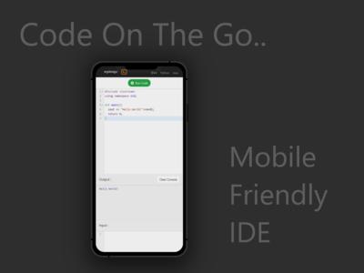 Mobile Friendly IDE